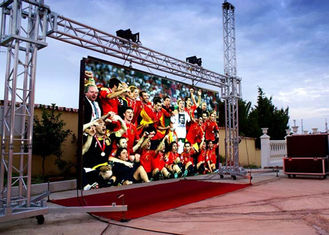 HD Outdoor RGB Led Screen Full Color Wide View Angle ROHS 960mm * 960mm