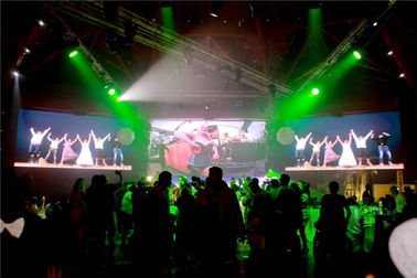 High Refresh Indoor Led Video Screen Rental , P4 Indoor Led Display 18W Max Power