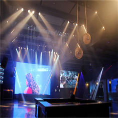 Full Color Led Video Screen Rental Die Casting Aluminum Indoor P4.81 Smd3528