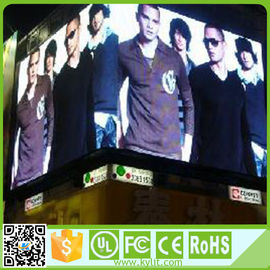 High Brightness Outdoor Led Video Display Full Color P6 Advertising Screen
