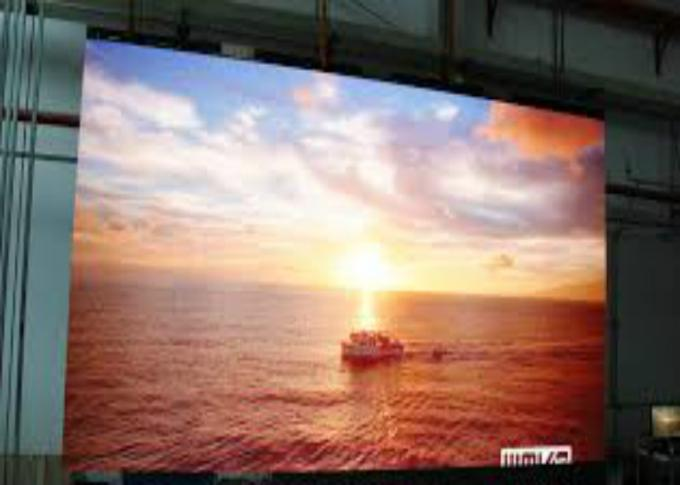 High Resolution P10 LED Large Screen Display , Video Wall LED Display High Brightness